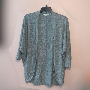 American Eagle Super Soft Gray Cardigan Size M